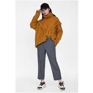NWT Zara Size XS Soft Feel Cigarette Pants